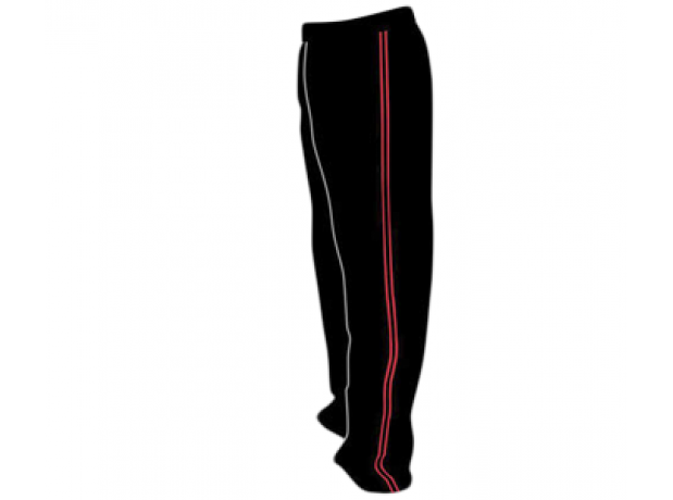 SB Customised Cricket Jersey Trouser Black Red Customised Cricket Clothing
