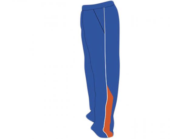SB Customised Cricket Jersey Trouser Blue Orange Customised Cricket Clothing