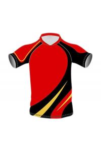 SB Customised Cricket Jersey Trouser Red Black Customised Cricket Clothing