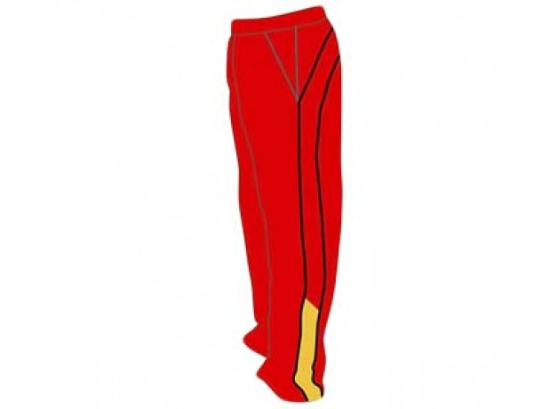 SB Customised Cricket Jersey Trouser Red Black Customised Cricket Clothing
