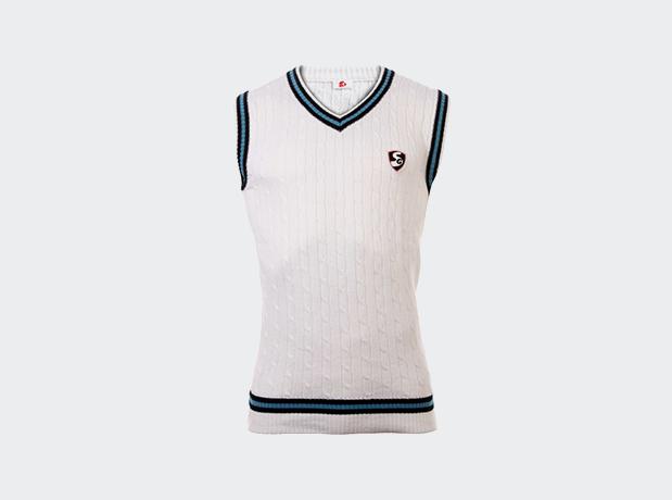 SG Icon Cricket Sweater Half Sleeves
