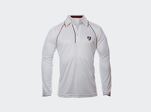 SG Premium Full Sleeves Cricket Shirt