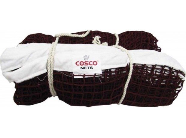 Cosco Badminton Net Nylon Material Brown Color Thread