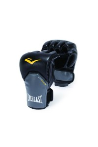 Everlast Competition Style MMA Boxing Gloves Black