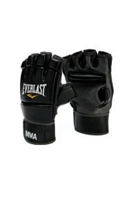 Everlast MMA Kick Boxing Gloves Black