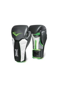 Everlast Prime Training Grey Green Boxing Gloves