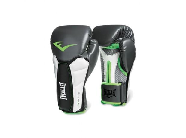 Everlast Prime Training Grey Green Boxing Gloves