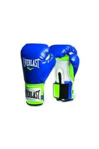 Everlast Pro Style Blue Green Training Boxing Gloves