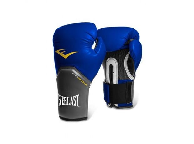 Everlast Pro Style Elite Blue Training Boxing Gloves