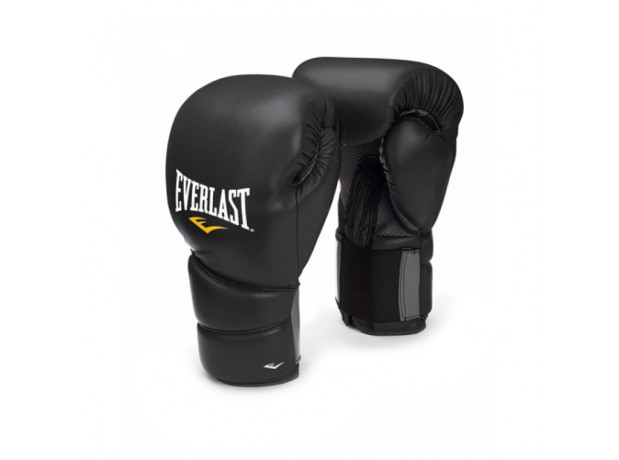 Everlast Protex 2 Training Black Boxing Gloves