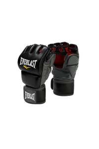 Everlast Training Grappling Boxing Gloves Black