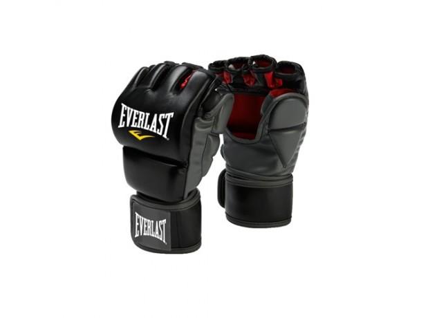 Everlast Training Grappling Boxing Gloves Black
