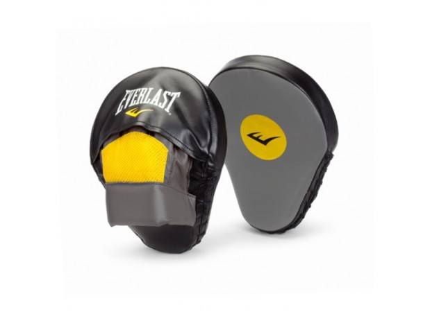 Everlast Boxing Mantis Punch Mitts Grey Black Yellow