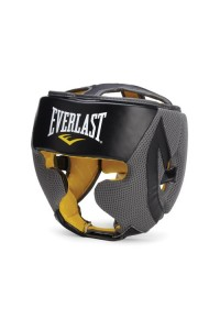 Everlast Boxing Evercool Headgear Black Grey