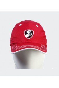 SG Maxxum Cricket Cap Red