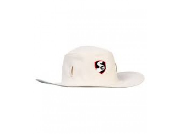 SG Supreme Fielding Panama Hat Off White Colour
