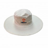 Albion Off White Cricket Panama Hat