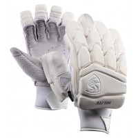 SG Hilite White Color Batting Gloves