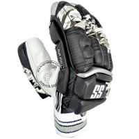 SS IPL Edition Cricket Batting Gloves Black Color