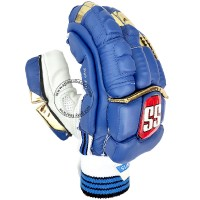SS IPL Edition Mumbai Indians Cricket Batting Gloves Blue Color