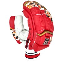 SS IPL Edition Royal Challengers Bangalore Cricket Batting Gloves Red Color