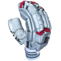 SS IPL Edition Kings 11 Punjab Cricket Batting Gloves Silver Color
