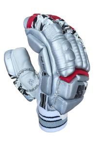SS IPL Edition Kings 11 Punjab Cricket Batting Gloves Silver Color