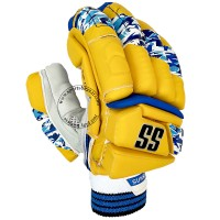 SS IPL Edition Yellow Colored Cricket Batting Gloves