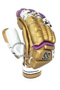 SS IPL Edition Cricket Batting Gloves Golden Color