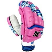 SS IPL Edition Cricket Batting Gloves Pink Color