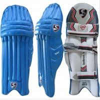 SG Test Blue Cricket Batting Leg Guard Pads