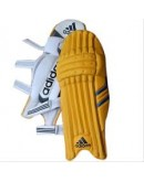 Adidas Yellow Color Cricket Batting Legguard for Men