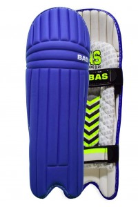 BAS Bow 20/20 Blue Color Cricket Batting Legguard