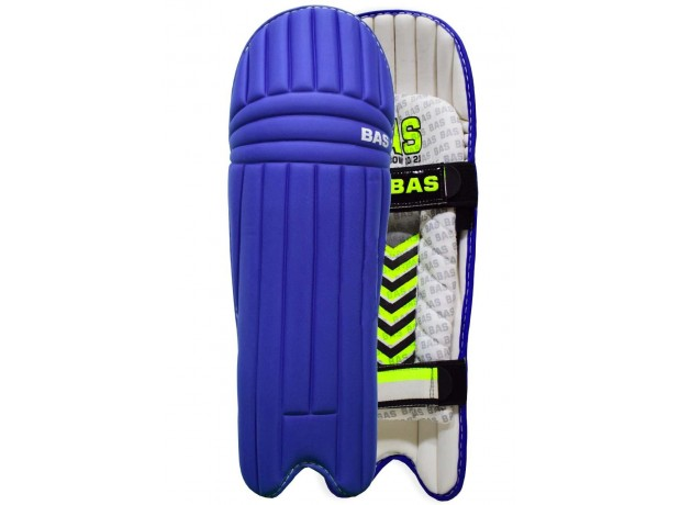BAS Bow 20/20 Blue Color Cricket Batting Legguard