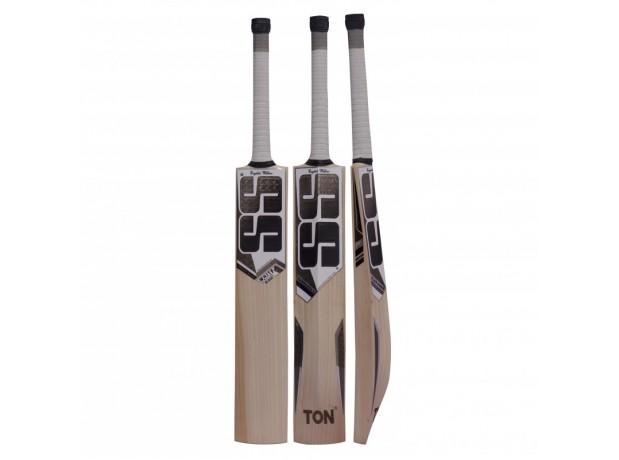 SS White Edition Black English Willow Cricket Bat