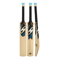 SS Single S Blue Color English Willow Cricket Bat