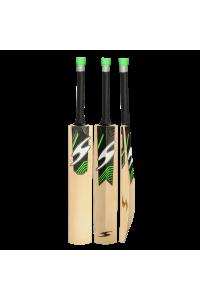SS Single S Green Color English Willow Cricket Bat