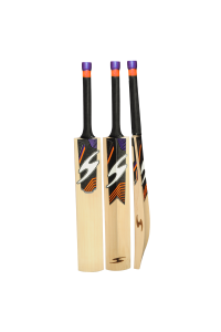 SS Single S Orange Color English Willow Cricket Bat