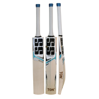SS White Edition Blue Color English Willow Cricket Bat
