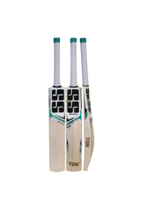 SS White Edition Green Color English Willow Cricket Bat