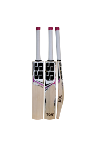 SS White Edition Maroon Color English Willow Cricket Bat