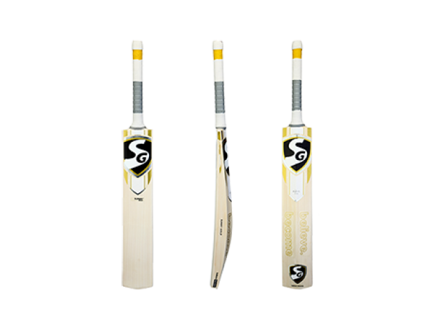 SG Sunny Gold English Willow Cricket Bat, Short Handle