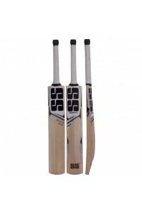 SS White Edition Black Kashmir Willow Cricket Bat