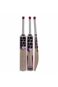 SS White Edition Pink Kashmir Willow Cricket Bat