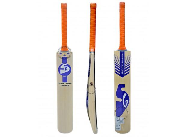SG Triple Crown Ultimate English Willow Cricket Bat SH