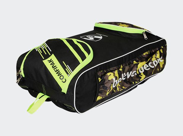 SG Comfipak Black Duffle Cricket Kit Bag