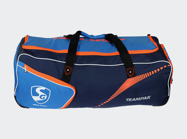SG Teampak (Blue) Wheel Cricket Kit Bag