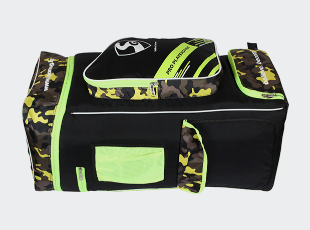 SG Pro Playerspak Duffle Cricket Kit Bag Colour  Black