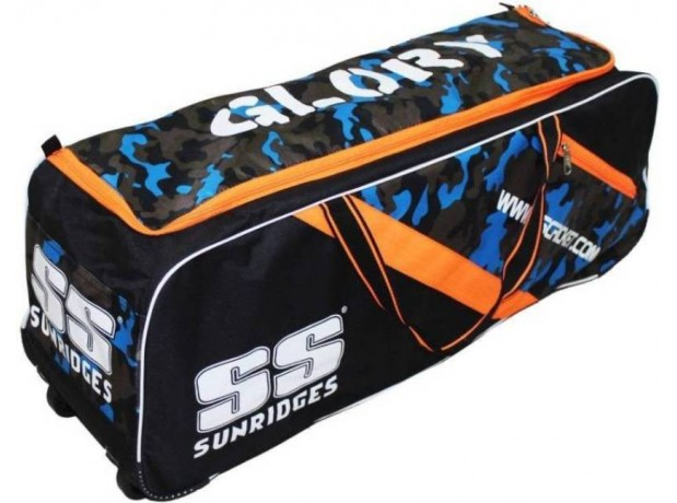 SS Glory Cricket Kit Bag With Wheels - Multi color