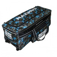 SS Maximus Camo Wheels Cricket Kit Bag